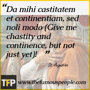 St. Augustine Famous Quotes