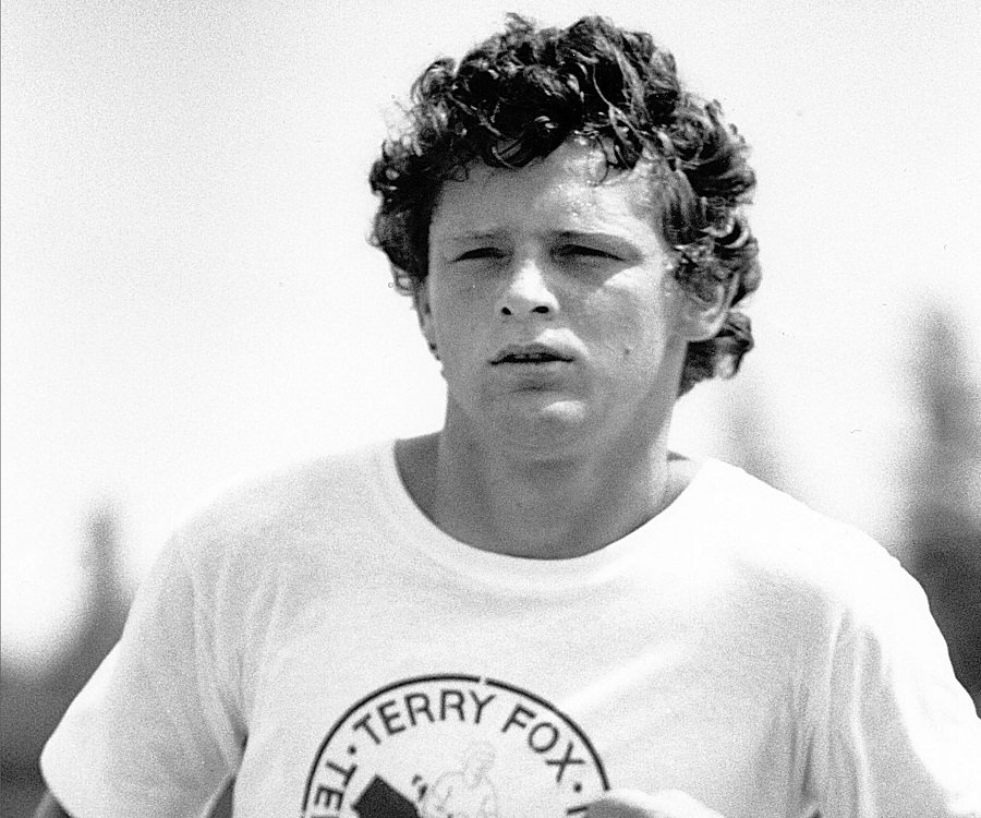 a biography of terry fox a canadian athlete and humanitarian Terry fox legacy lives on three decades after death  of the terry fox humanitarian award program, a national program which provides dozens of scholarships across the country to students who .