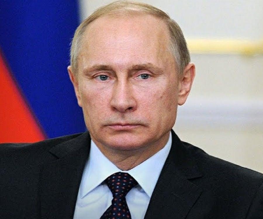 Putin giving a pose.