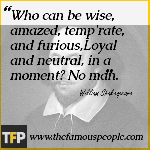 Who can be wise, amazed, temp