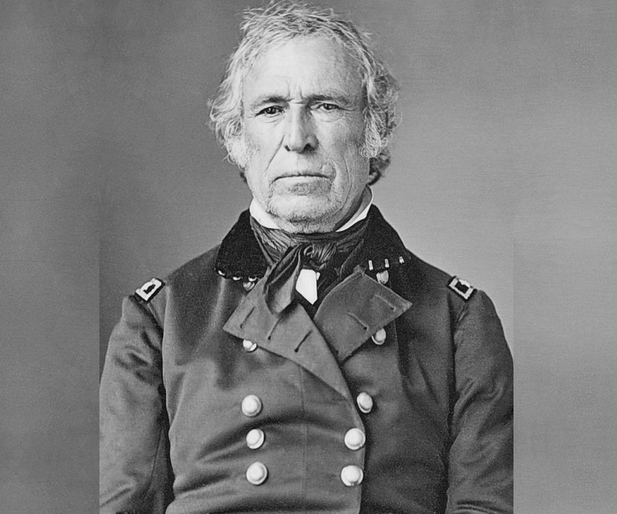 A biography and life work by zachary taylor 12th president of the united states