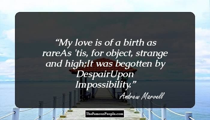 """the conception of time in the poem to his coy mistress by andrew marvell """"those winter sundays"""" """"those winter sundays"""" by robert hayden is a short lyrical poem  time """"conception  poem to his coy mistress by andrew marvell."""