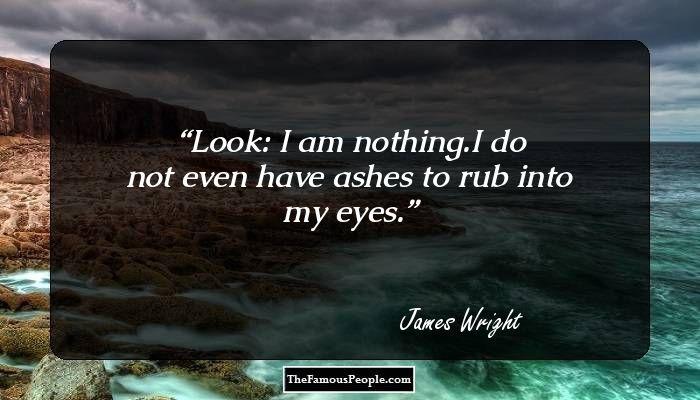 James Wright Biography - James Arlington Wright Childhood