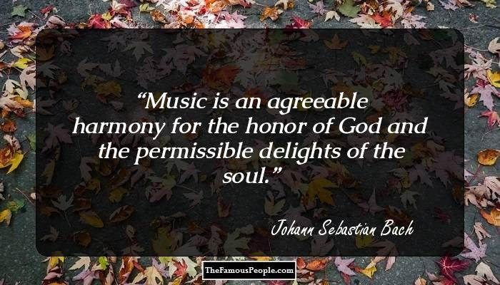 a biography of johann sebastian bach a composer Johann sebastian bach was born to a musical family in eisenach, germany, in  1685 after holding a variety of important musical positions,.