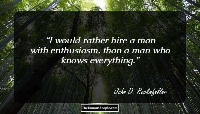 John D Rockefeller Biography Childhood Life