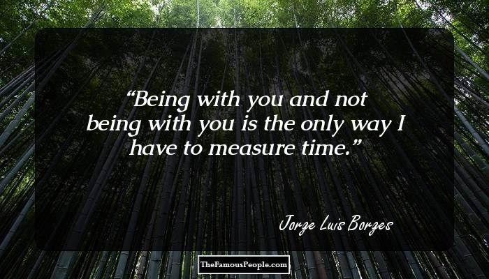 Jorge Luis Borges famous poems