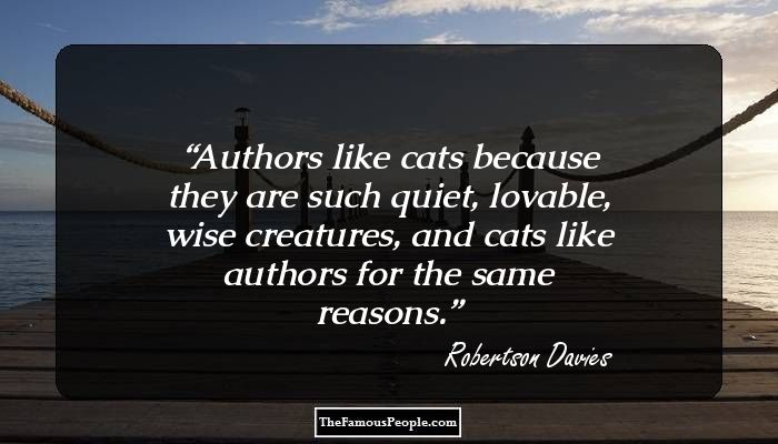 robertson davies essay In his novel, fifth business, robertson davies addresses the meaning of life by exploring jungian archetypes.
