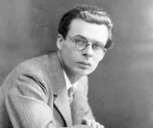 Aldous Huxley<