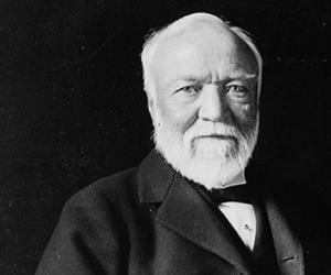 andrew carnegie biography childhood life achievements timeline andrew carnegie
