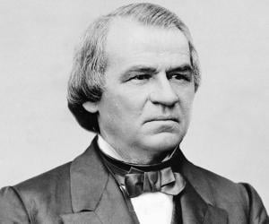 Andrew Johnson - 17 President of the United States of America From April 15, 1865 to March 4, 1869