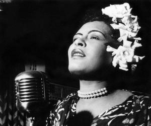 a biography of billie holiday an american singer Why does billie holiday's music still haunt us the singer would have turned 100  on april 7, yet somehow she sounds as dramatic  deal of sorrow and artistic  triumph into a tragically brief life (she died in 1959 at age 44.
