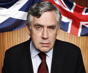 Gordon Brown<