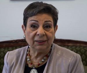 Hanan Ashrawi<