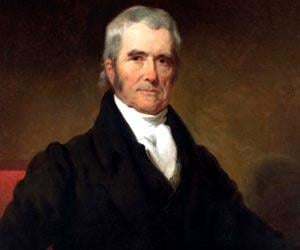 A study of the life and accomplishments of john marshall