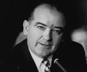 the life and times of joseph raymond mccarthy Senator joseph raymond mccarthy early summer was a heady time in washington a communist following criticism of mccarthy on air, took his own life.