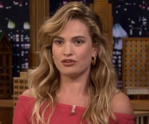 Lily James<