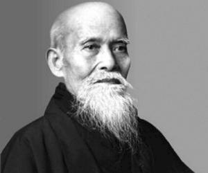 Morihei Ueshiba<