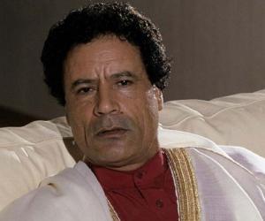 Muammar Gaddafi<