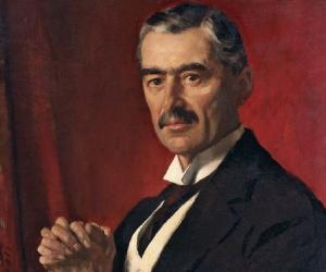 a biography of neville chamberlain born in 1869 Neville chamberlain is a member of famous people who are known for being a world leader, celebs who are old, was born in march, in the year 1869.
