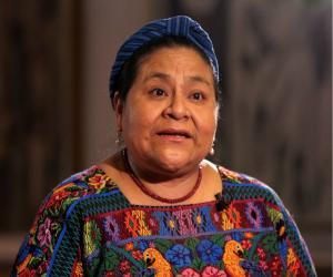 Rigoberta Menchú<