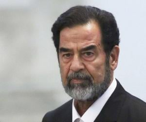 Saddam Hussein<