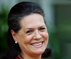 Sonia Gandhi<